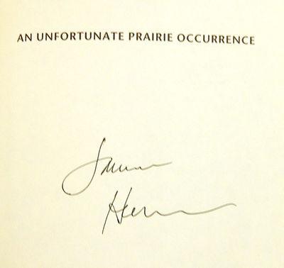 An Unfortunate Prairie Occurrence, Harrison, Jamie