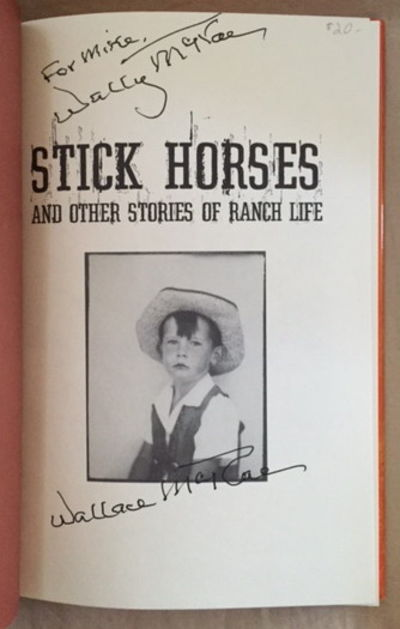 Stick Horses and Other Stories of Ranch Life, McRae, Wallace