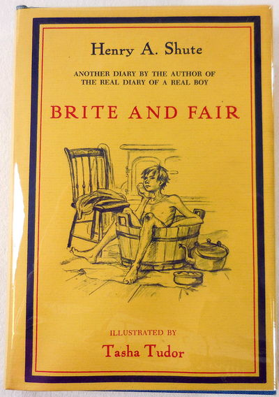 Image for Brite and Fair. A Sequel to The Real Diary of a Real Boy