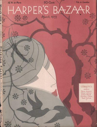 Image for Harper's Bazar (Harper's Bazaar) - March, 1933 - Cover Only