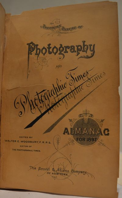 Image for Scovill's Photographic Series: The American Annual of Photography and  Photographic Times Almanac for 1897