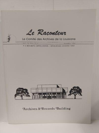 Image for Le Raconteur Vol X No 3-4 December 1990