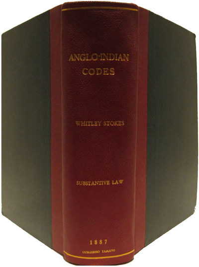 Image for The Anglo-Indian Codes. Volume I.