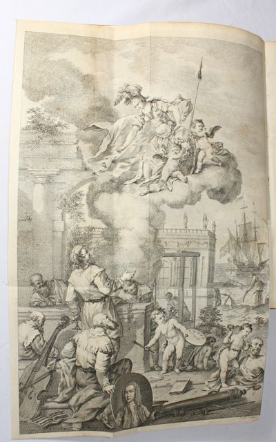 RARE 1754 Clave Historical, Popes Emperors Kings SPAIN ITALY FRANCE, Madrid, 1st