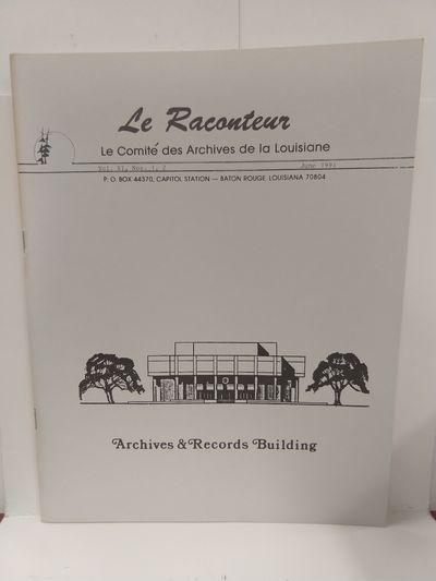 Image for Le Raconteur, Vol XI No 1-2 June 1991