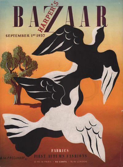 Image for Harper's Bazar (Harper's Bazaar) - September 1st, 1937 - Cover Only