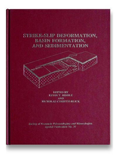 Strike-Slip Deformation, Basin Formation,, and Sedimentation, Biddle, Kevin & Christie-Blick, Nicholas  (eds)
