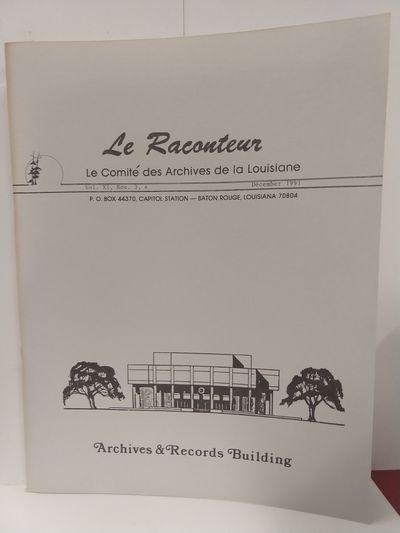 Image for Le Raconteur Vol XI, No 3-4 December 1991