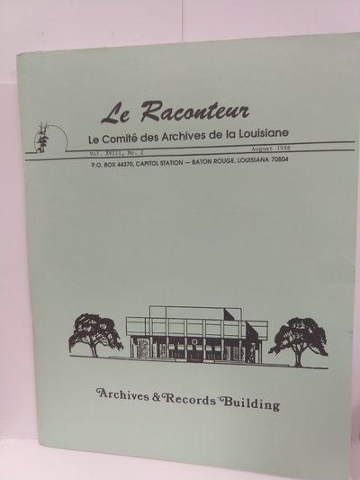Image for Le Raconteur Vol XVIII No 2 Ausust 1998