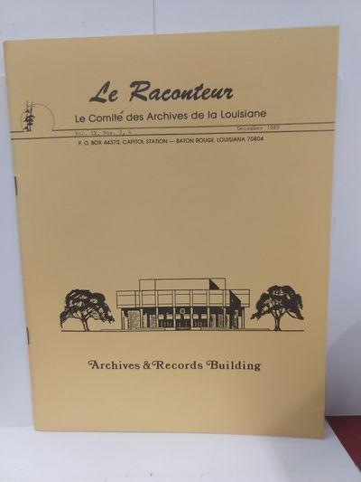 Image for Le Raconteur Vol IX No 3-4 December 1989