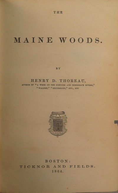 Image for The Maine Woods