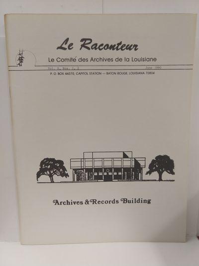 Image for Le Raconteur Vol X No 1-2 June 1990