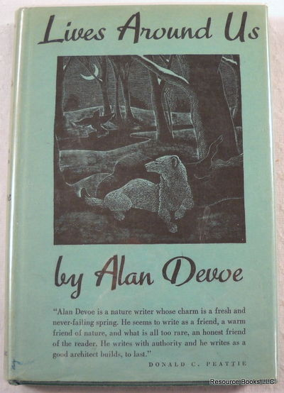 Lives Around Us: A Book of Creaturely Biographies, DeVoe, Alan.  Illustrated By Frank Utpatel