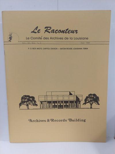 Image for Le Raconteur Vol IX No 1-2 June 1989