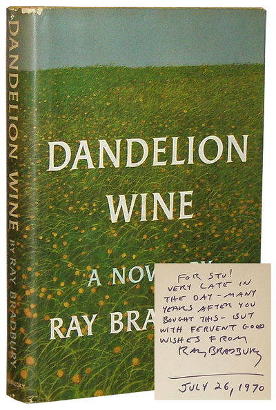 essay questions for dandelion wine