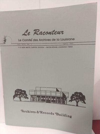 Image for Le Raconteur Vol XIII No 1 April 1993