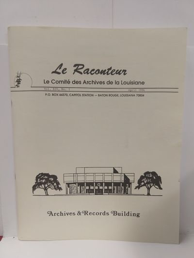 Image for Le Raconteur  Vol XIV No 1 April 1994