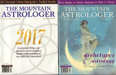 Image for The Mountain Astrologer timeless perspective on modern life