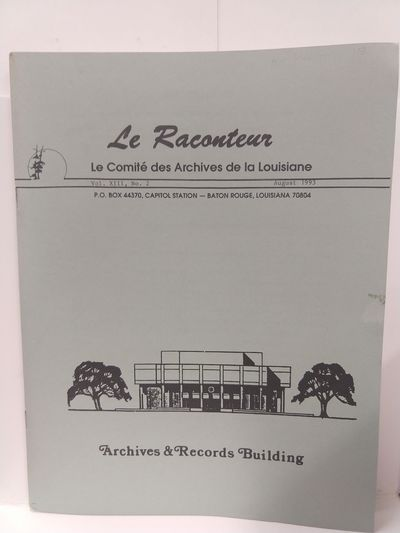 Image for Le Raconteur Vol XIII No 2 August 1993