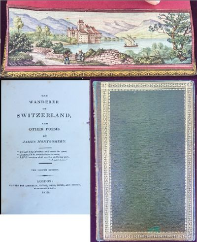 The Wanderer of Switzerland and other poems. The eighth edition., MONTGOMERY, James.