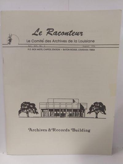 Image for Le Raconteur Vol XIV No 2 August 1994