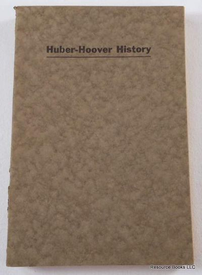 The Huber-Hoover Family History, Hoover, Harry M.