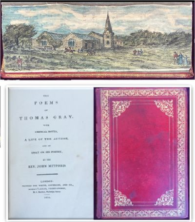 The Poems of Thomas Gray. With critical notes, a life of the author, and an essay on his poetry, by the Rev. John Mitford., GRAY, Thomas.