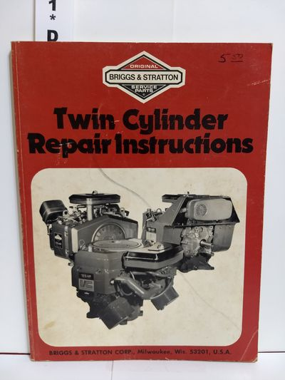 Image for Briggs & Stratton Twin Cylinder Repair Instructions (Pt. No. 271172)