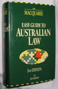 Macquarie Easy Guide to Australian Law Jan Bowen