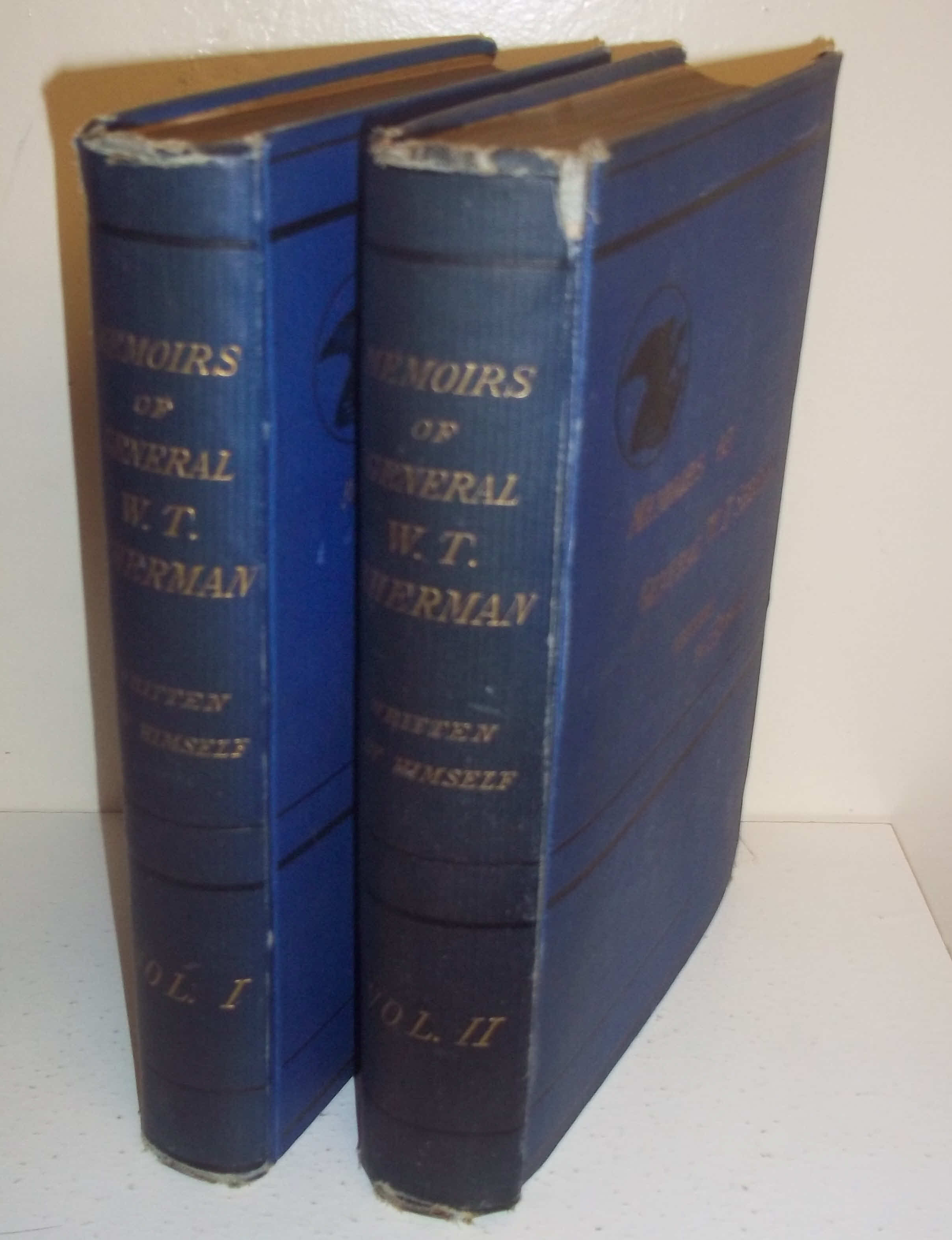1875 Memoirs of General William T. Sherman 2 Vol 1st Ed