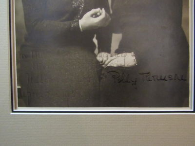 Image for Helen Keller and Polly Thomson signed photograph