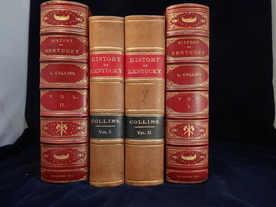 Image for History of Kentucky. Revised & enlarged edition in fine tooled morocco  cases.