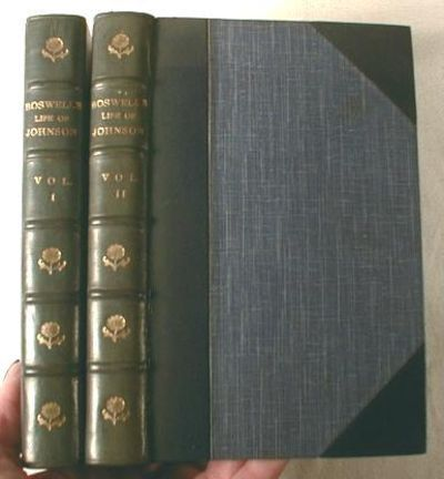 The Life of Samuel Johnson (Two Volumes), Boswell, James