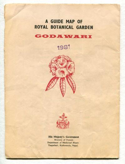 A Guide Map of Royal Botanical Garden, Godawari