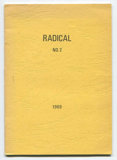 Radical: A Journal of Radical Thought and Expression, No. 2, Kaplinsky, Raphael (ed)