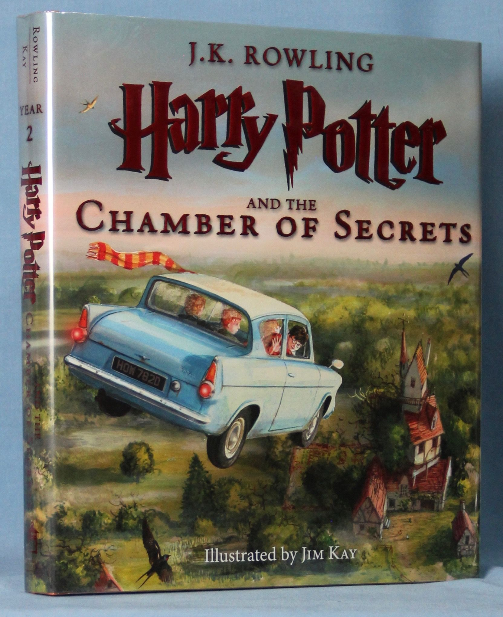 Image for Harry Potter and the Chamber of Secrets: The Illustrated Edition (Harry Potter, Book 2)
