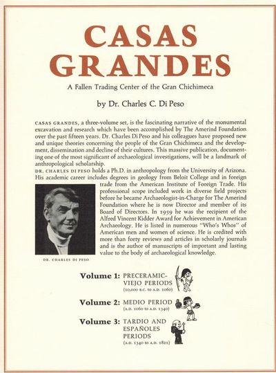 Casas Grandes: A Fallen Trading Center of the Gran Chichimeca, Vols. 1-3
