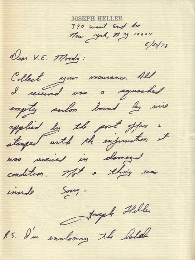 Image for Autographed letter (signed).