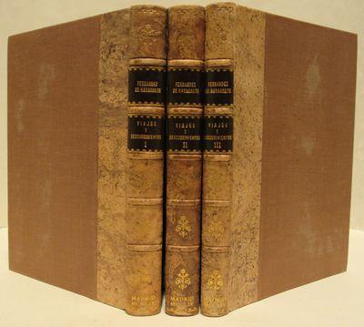 Image for Obras de D. Martin Fernandez de Navarrete - Three Volume Set Edicion y Estudio Preliminar de D. Carlos Seco Serrano