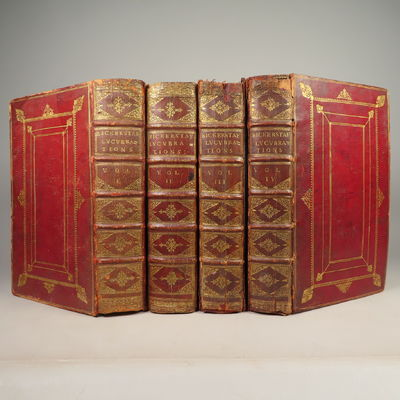 Image for The Lucubrations of Isaac Bickerstaff, Esq. (4 volume set) (The Tatler, No. 1-271)