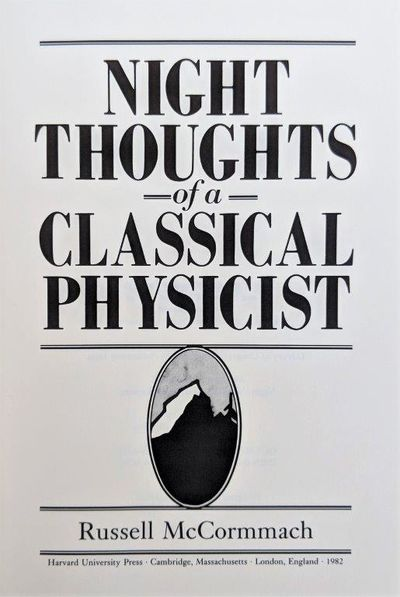 Image for Night Thoughts of a Classical Physicist.