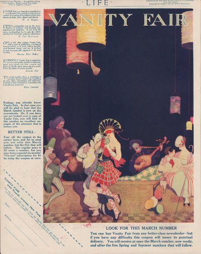 Image for Life Magazine Advertisement for Vanity Fair, February 25, 1915
