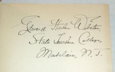 DISCOVERING POETRY, (Webster, Edward Harlan). Drew, Elizabeth