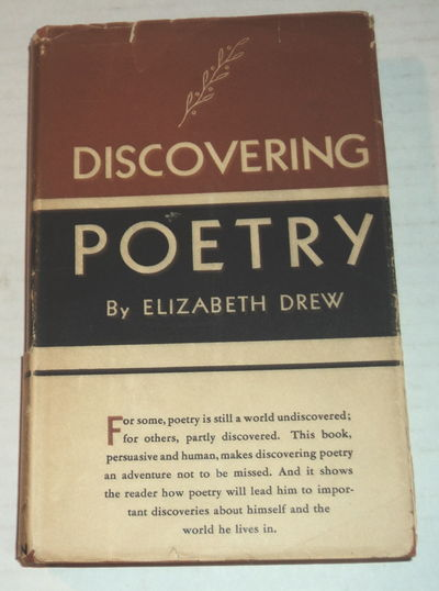 Image for DISCOVERING POETRY.