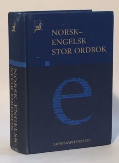 Norsk-Engelsk Stor Ordbok [Norweigan-English Dictionary], Kirkeby, Willy A.