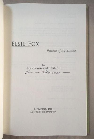 Elsie Fox: Portrait of an Activist, Stevenson, Karen