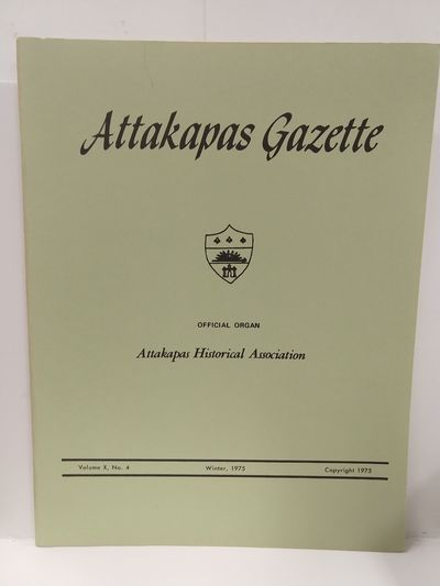 Image for Attakapas Gazette Winter 1975