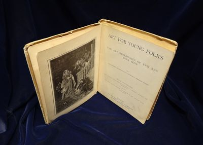 Image for Art For Young Folks. The Art Researches of Two New York Boys with  Biographies of Twenty-Four Prominent American Artists. Fully Illustrated  with Portraits, Studio Interiors, Engravings of Paintings, Sculpture and  Architecture and also with many original drawings by members of the  American Water Color Society