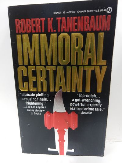 Image for Immoral Certainty (Signet)