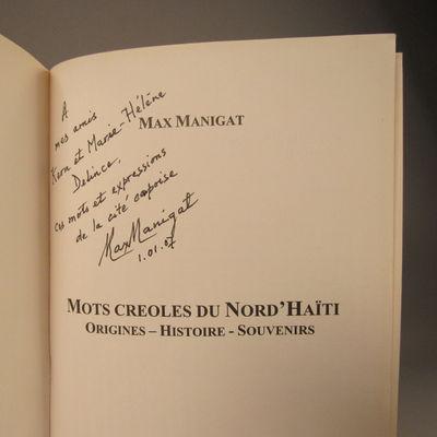 Image for Mots creoles du Nord'Haiti, Orignes - Histoire - Souvenirs (Mots croles du Nord'Haiti, Orignes - Histoire - Souvenirs)